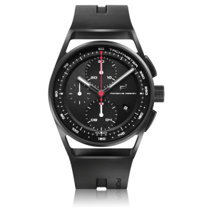 Porsche Design 1919 Chronotimer Black &amp. Rubber