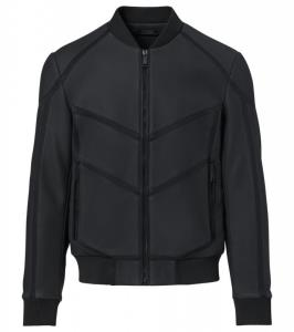 Porsche Design P 1140 M Neoprene Leather Mix Jacket Bunda kožená mix