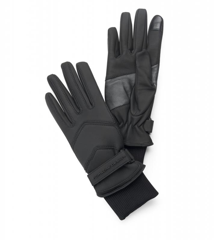 Porsche Design Touch Tec Leather Mix Gloves