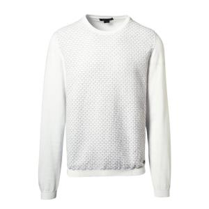 3-D Textured Sweater