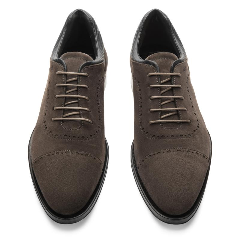Porsche Design Goodyear Welted Velours Lace Up Obuv formální