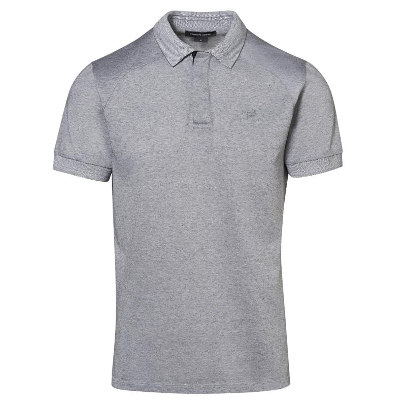 Porsche Design Hidden Placket Polo Tričko s límečkem