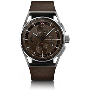 Porsche Design 1919 Chronotimer Flyback Brown &amp. Leather