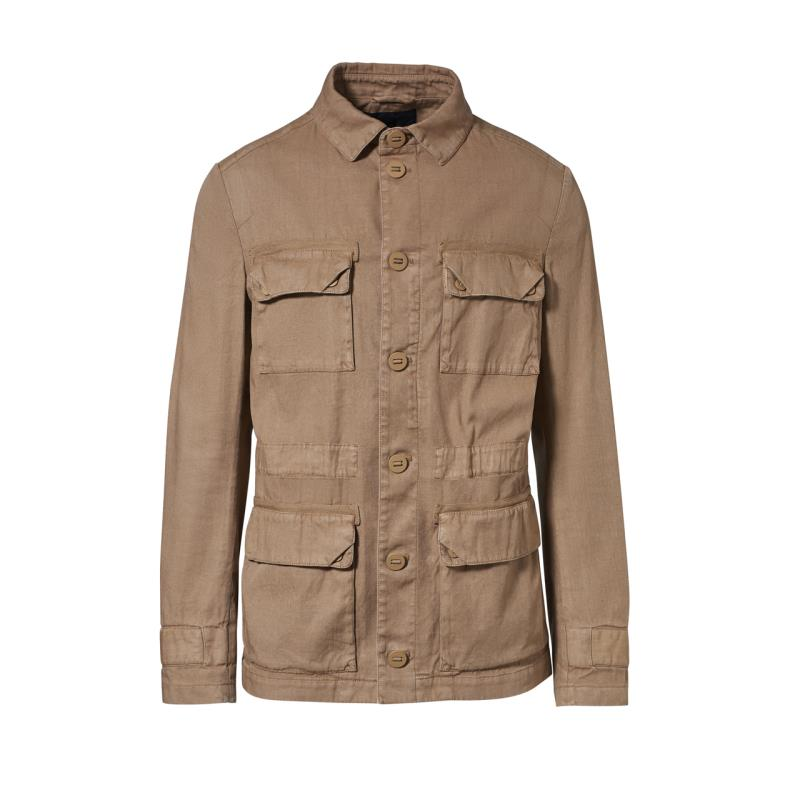 Porsche Design Garment Dye Field Jacket Bunda parka