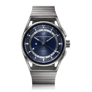 Porsche Design P 6024 1919 Globetimer UTC All Titanium  Blue