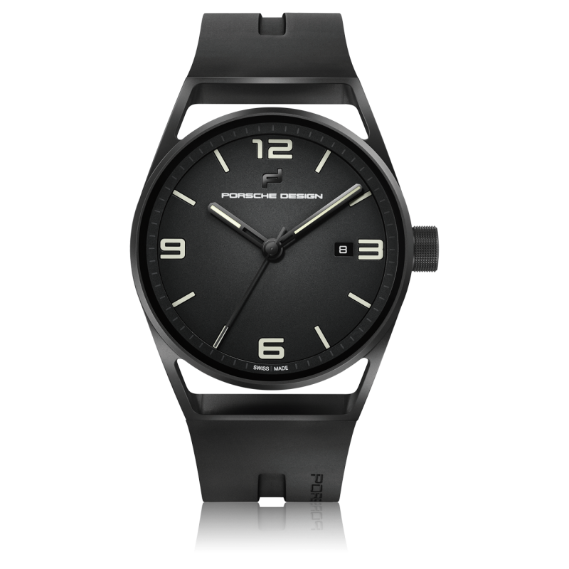 1919 Datetimer Eternity Black Edition Black &amp. Rubber