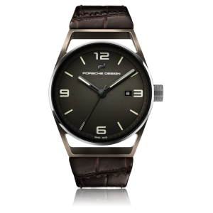 Porsche Design 1919 Datetimer Eternity Brown Alligator Leather