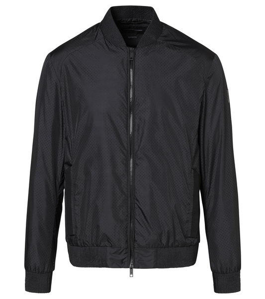 Porsche Design NYLON PERFORATED BLOUSON Bunda černá jet black