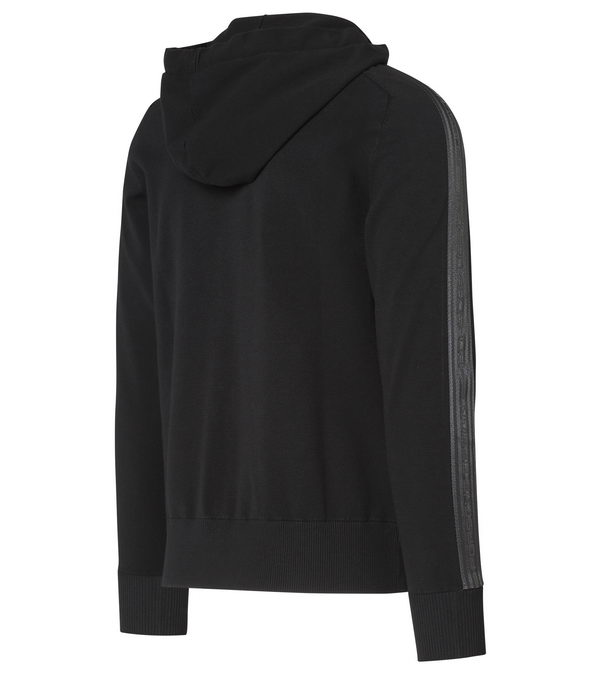 Porsche Design HOODED ICONIC JACKET jet black černá