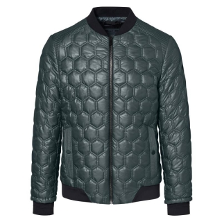 Porsche Design Hexagon Quilted Jacket Bunda prošívaná