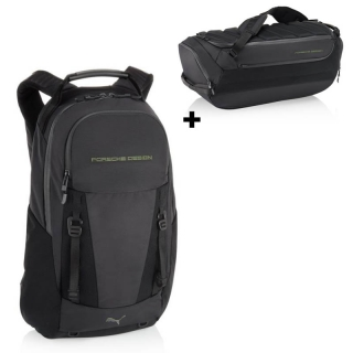 Porsche Design EVO Knit Backpack Batoh + Gym Duffle Bag Taška ZDARMA