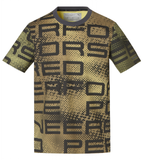 Porsche Design THERMOREACTIVE GRAPHIC T-SHIRT triko thermographic černá